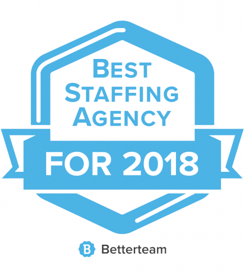 2018 Best Staffing Agency