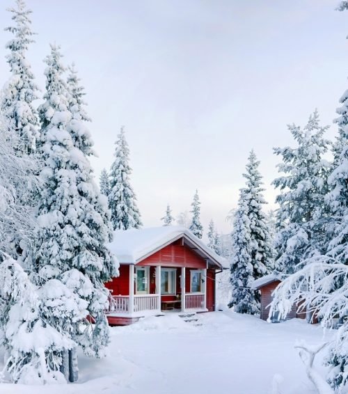 Winter Travel In Text