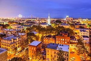 Savannah is at the heart of Georgia's rich historic heritage
