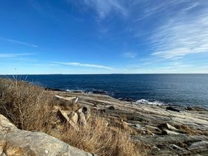 Maine's sprawling beaches offer beautiful landscape views for miles