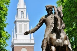 Walk the Historic Freedom Trail and See Paul Revere's Iconic Statue